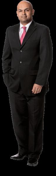 Mel Chaudhary, personal injury & ICBC claims lawyer at Simpson, Thomas & Associates.