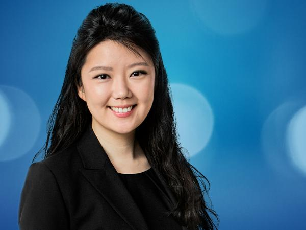 S. Esther Chung, personal injury & ICBC claims lawyer at Simpson, Thomas & Associates.